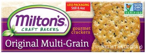 Milton's Craft Bakers Original Multi-Grain Gourmet Baked Crackers Perspective: front
