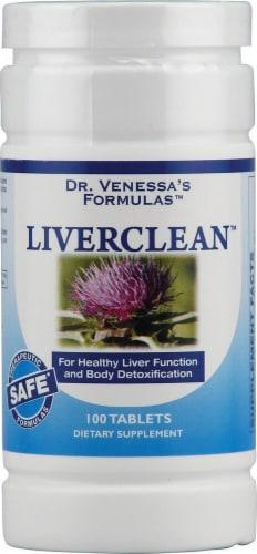 Dr. Venessa's  Formulas™ LiverClean™ Perspective: front