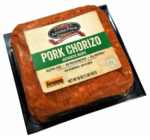 Denmark Foods Arizona Fresh Pork Chorizo Perspective: front
