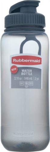 Rubbermaid® Essentials Cool Gray Chug Water Bottle Perspective: front