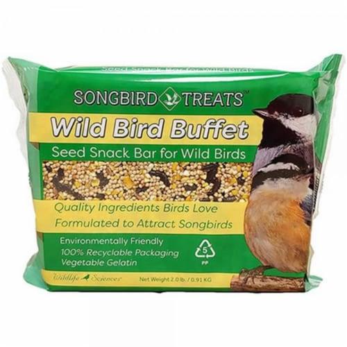 Wildlife Sciences WSC902 2 lbs Wild Bird Buffet Seed Bar Perspective: front