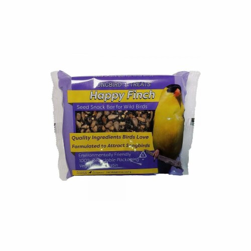 Wildlife Sciences WSC910 8 oz Happy Finch Seed Bar - Pack of 12 Perspective: front
