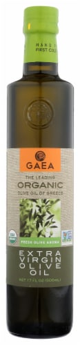 Gaea Extra Virgin Olive Oil Perspective: front