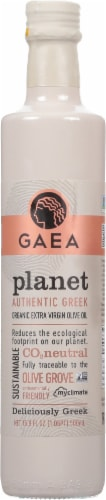Gaea Planet Organic Extra Virgin Olive Oil Perspective: front