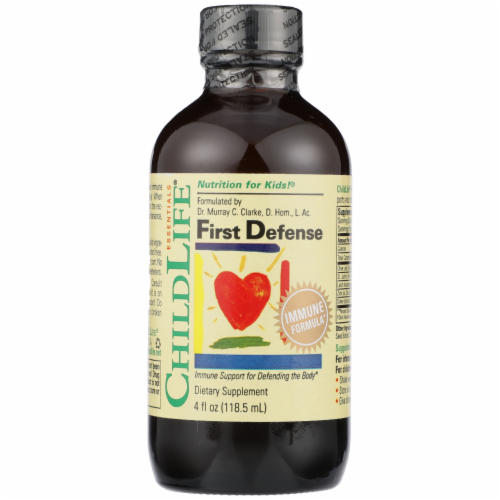 Child Life First Defense Immune Support Liquid Perspective: front