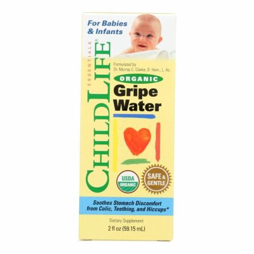 Childlife Essentials Organic Gripe Water Dietary Supplement  - 1 Each - 2 FZ Perspective: front