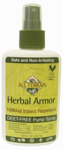 All Terrain Herbal Armor Insect Repellent Perspective: front