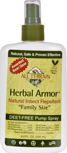 All Terrain Herbal Armor Natural Insect Repellent Perspective: front