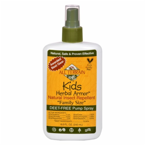 All Terrain Kids Herbal Armor Natural Insect Repellent Family Size Perspective: front