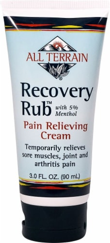 All Terrain Recovery Rub Pain Relieving Cream Perspective: front