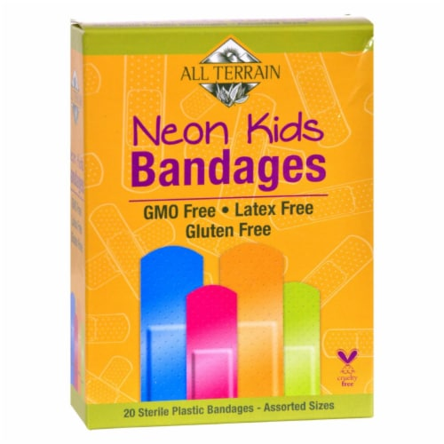 All Terrain Neon Kids Bandages Perspective: front