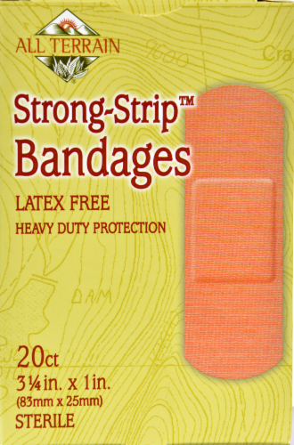 All Terrain Strong-Strip Bandages Perspective: front