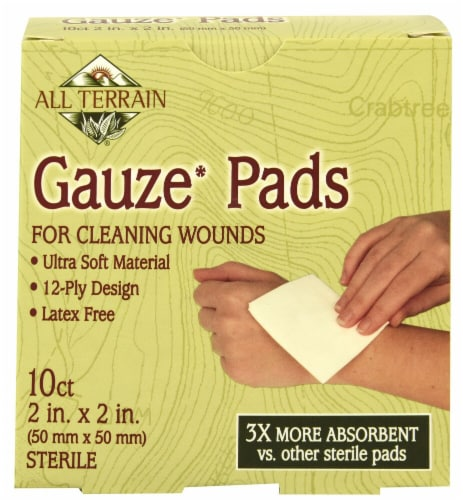 All Terrain Gauze Pads Latex Free 2 in. X 2 in. Perspective: front
