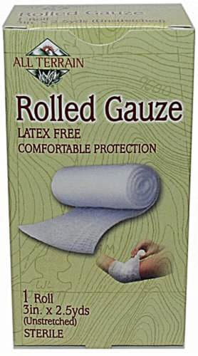 All Terrain Latex Free Rolled Gauze Perspective: front