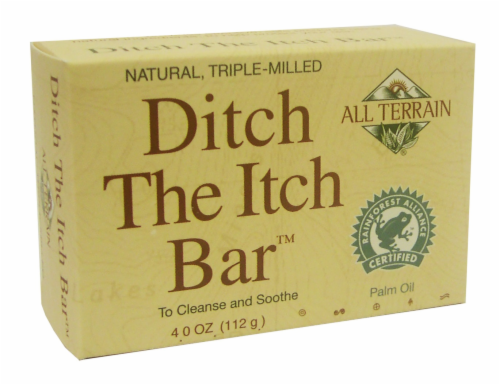 All Terrain Ditch The Itch Bar Palm Oil Perspective: front