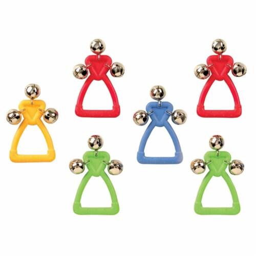 Edushape Ltd Handle Jingle Bells  - Set of 6 Perspective: front