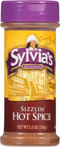 Sylvia's Sizzilin' Hot Spice Perspective: front