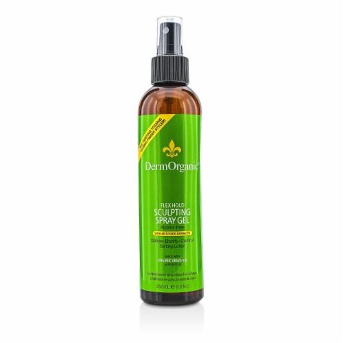 DermOrganic Flex Hold Sculpting Spray Hairspray 8 oz Perspective: front