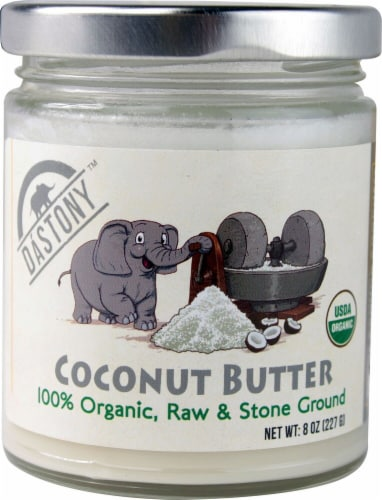 Windy City Organics Dastony Coconut Butter Perspective: front