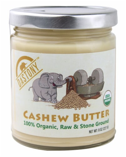 Windy City Organics Dastony Cashew Butter Perspective: front