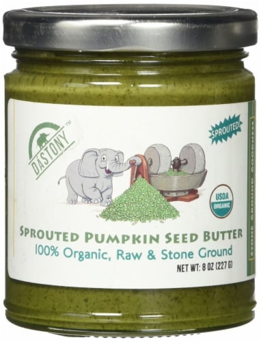 Windy City Organics  Dastony™ Sprouted Pumpkin Seed Butter Perspective: front