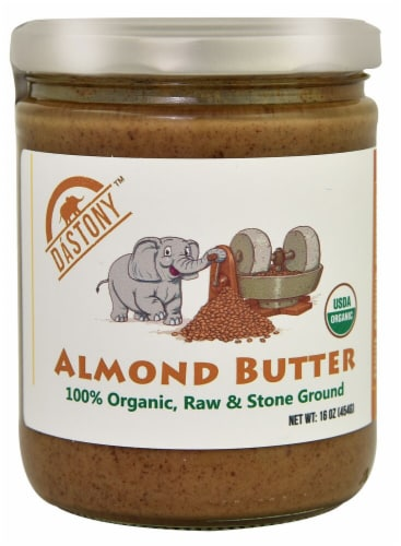 Windy City Organics Dastony Almond Butter Perspective: front