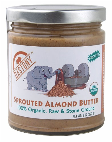 Windy City Organics Dastony Sprouted Almond Butter Perspective: front