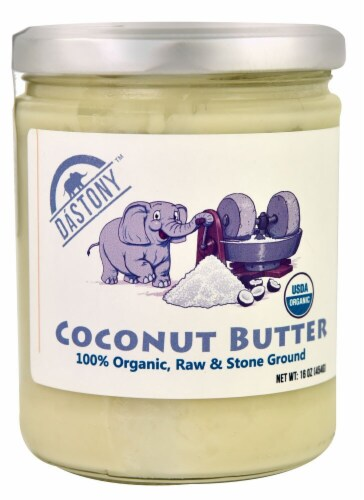 Windy City Organics  Dastony™ Coconut Butter Perspective: front
