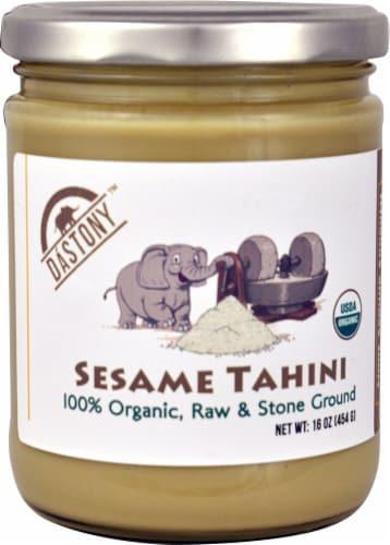Windy City Organics Dastony Organic Sesame Tahini Perspective: front