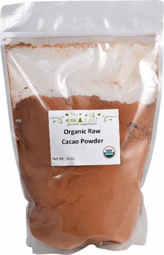 Windy City Organics  Raw Guru Organic Raw Cacao Powder Perspective: front