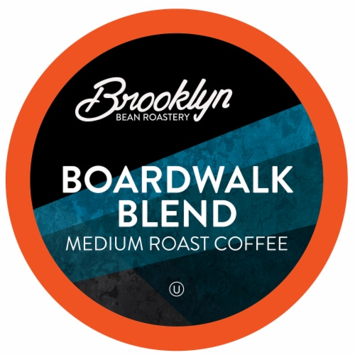 Brooklyn Beans Boardwalk Blend Coffee Pods for Keurig K-Cups Coffee Maker, 40 count Perspective: front