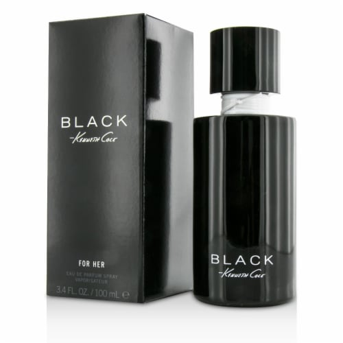 Kenneth Cole Black by Kenneth Cole for Women - 3.4 oz EDP Spray Perspective: front