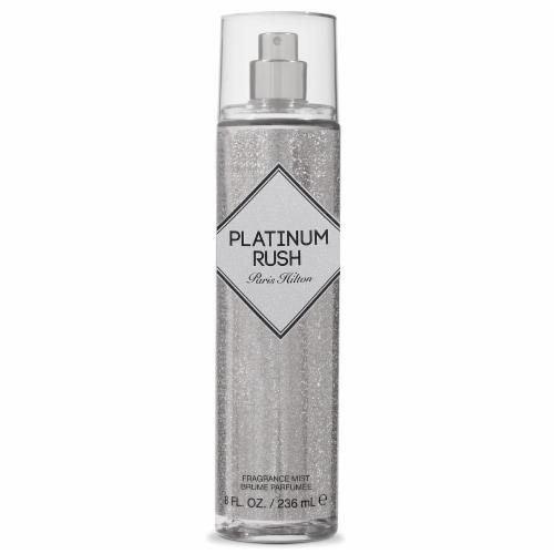 Paris Hilton Platinum Rush Fragrance Mist Perspective: front