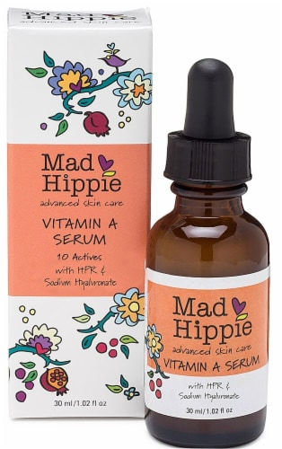 Mad Hippie Vitamin A Serum Perspective: front