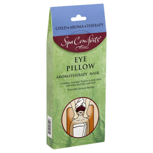 Spa Comforts Eye Pillow Aromatherapy Mask Perspective: front