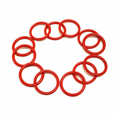 "12 Pack Small Ring Toss Rings with 2.125"" in Diameter Perspective: front"