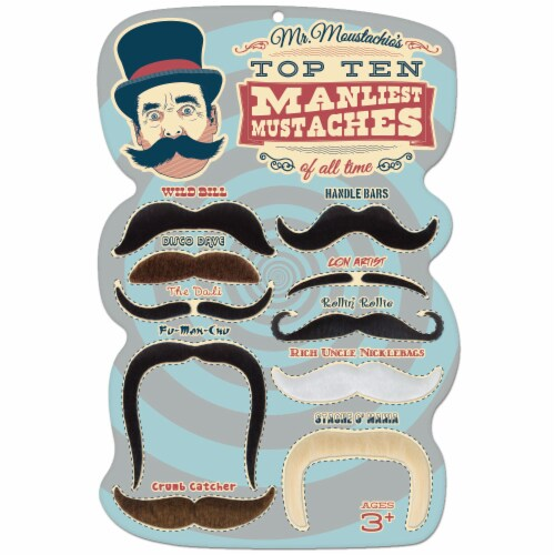Mr. Moustachio's 10 Manliest Mustaches of All Time Perspective: front