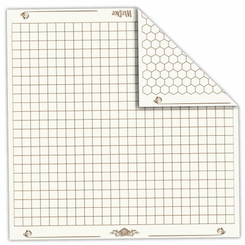 "Melee Mat 26"" x 26"" Reversible Vinyl Gaming Mat Perspective: front"