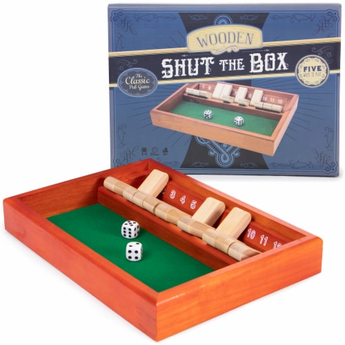 Shut the Box Perspective: front