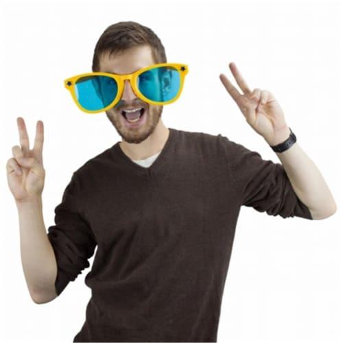 Jumbo Sunglasses - Yellow Perspective: front