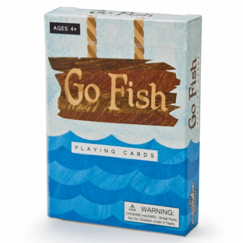 Go Fish Illustrated Card Game Perspective: front