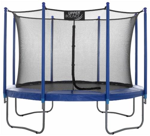 Upper Bounce® 10 FT. Trampoline & Enclosure Set Perspective: front