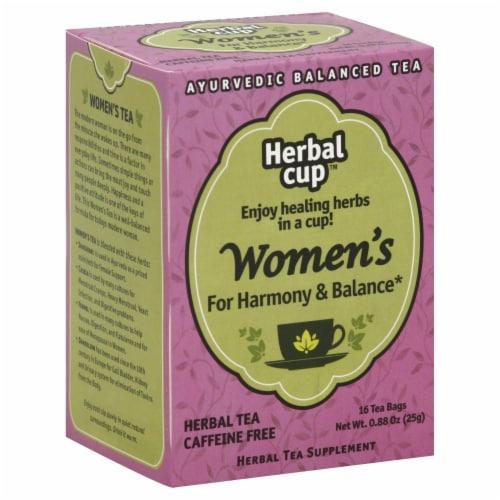 Herbal Cup Ayurvedic Balanced Tea Perspective: front