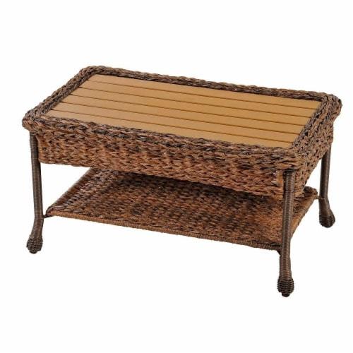 CTE Trading CTE1529-CT Outdoor Garden Patio Coffee Table Perspective: front