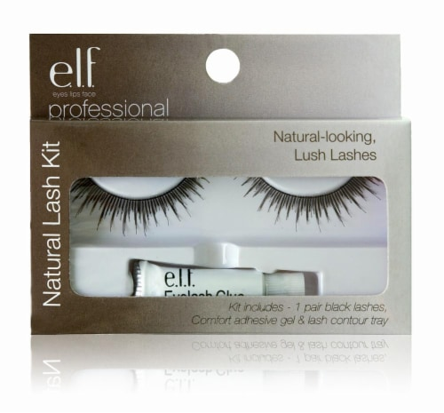 e.l.f. Natural-Looking Lush Lashes Kit Perspective: front