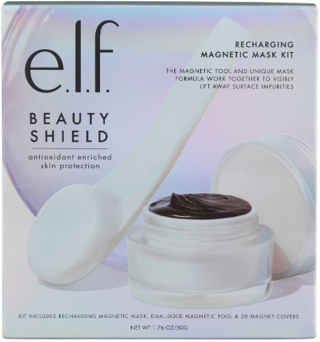 e.l.f. Beauty Shield Recharging Magnetic Mask Cream Kit Perspective: front