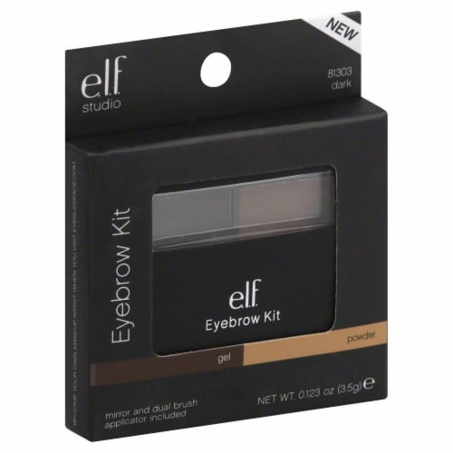 e.l.f. 81303 Dark Studio Eyebrow Kit Perspective: front