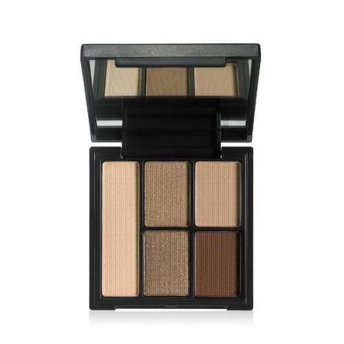 e.l.f. Necessary Nudes Clay Eye Shadow Palette Perspective: front