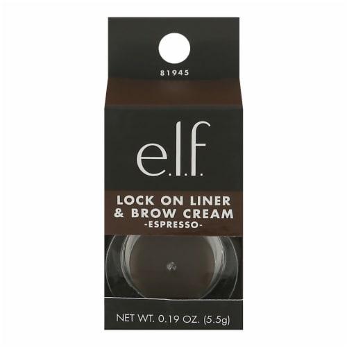 e.l.f. Lock On Espresso Liner & Brow Cream Perspective: front