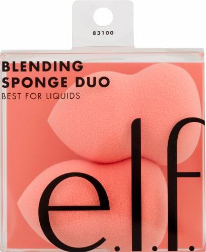 e.l.f. Blending Sponge Duo Perspective: front
